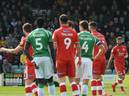 Yeovil Town V Crawley Town 13 April 2019